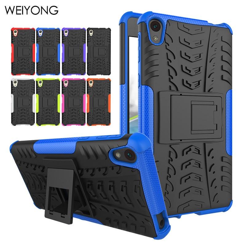 Soft TPU+PC mobile Phone Back Cover Capa For SONY Xperia E5 F3313 Etui Armor Case Fundas For Sony E5 8 5 1 ii Coque<