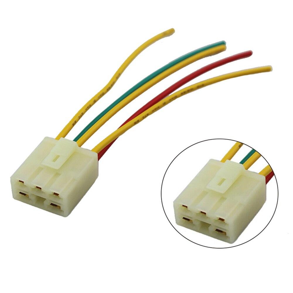 5 cables 6 cables rectificador regulador de motocicleta enchufe regulador de voltaje conector macho