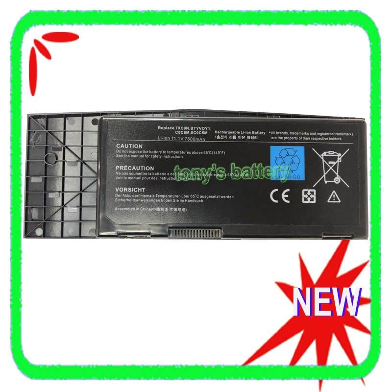 9 Cell BTYVOY1 batería del ordenador portátil para Dell Alienware M17x R3...