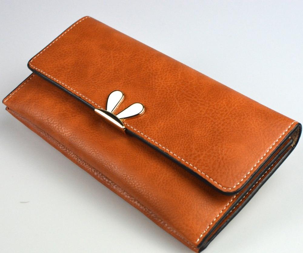 Женский кошелек, вместительный удлиненный клатч на молнии, женский удлиненный бумажник на молнии, кожаный держатель для карт