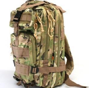 Tactical Level 3 MOLLE Assault Backpack Bag CG-02 CP camouflage SAND CB OD Camo woodland BK Digital ACU Digital woodland