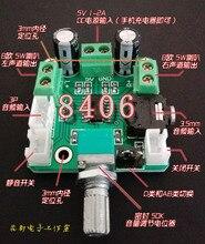 PAM8406 Digital Amplifier Board 8 Euro 4 Euro Horn Dual 5 W Output 3-5V Small speaker Amplifier Board DC Power-Supply