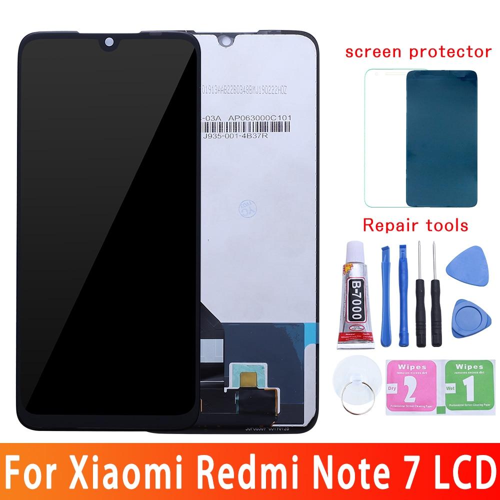 LCD de calidad AAA 10-Touch para Xiaomi Redmi Note 7 LCD con reemplazo de pantalla de marco para pantalla LCD Redmi Note7
