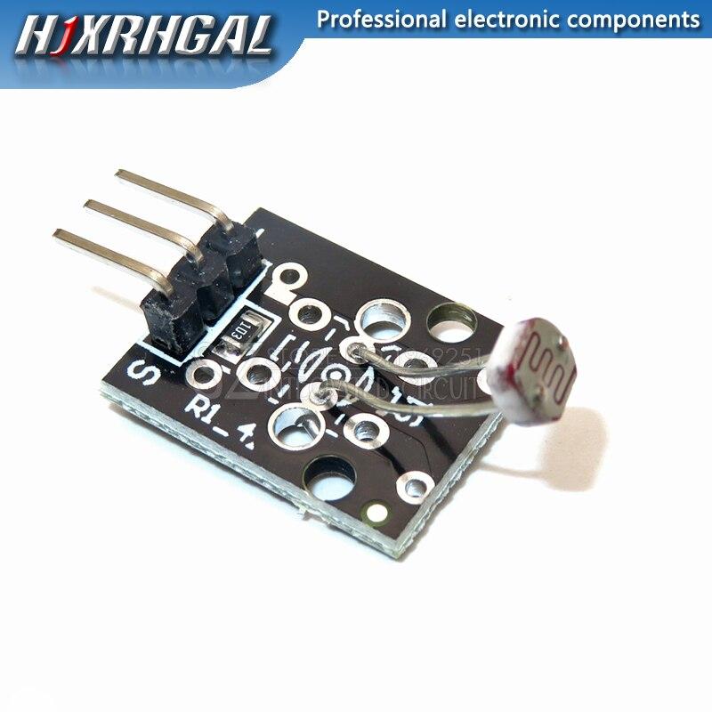10PCS KY-018 3pin Optical Sensitive Resistance Light Detection Photosensitive Sensor Module for arduino DIY Kit KY018