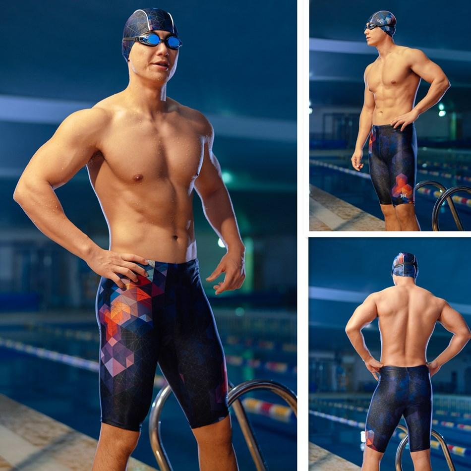 361 плавки мужские для плаван, шорты для плавания, обтягивающие плавки для плавания, быстросохнущие плавательные шорты для бассейна, трениро...