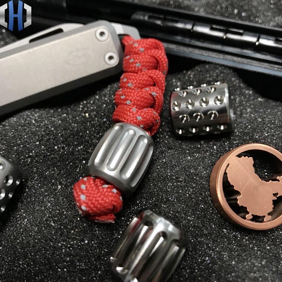 Подвеска для ножа TC4 из титанового сплава креативные модели тыквы повседневного