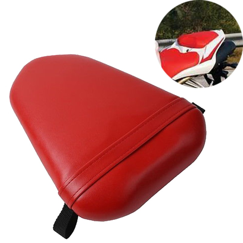 For 2007-2008 Yamaha YZF R1 YZF-R1 YZFR1 07 08 Motorcycle Rear Passenger Seat Cushion Cover Tail Pillion Pad Red