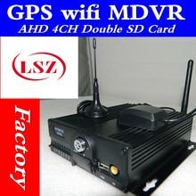 720 p hd 자동차 비디오 레코더 gps 와이파이 위치 온보드 모니터링 호스트 av/rca 인터페이스 mdvr 소스 공장