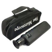 Handheld 400X Faser Optische Inspektion Mikroskop mit 2,5mm & 1,25mm Adapter