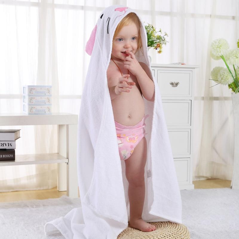 ¡Oferta! Manto de animales para bebé, toalla de algodón suave y cómoda, albornoz de tres colores para niñas y niños, regalos pequeños