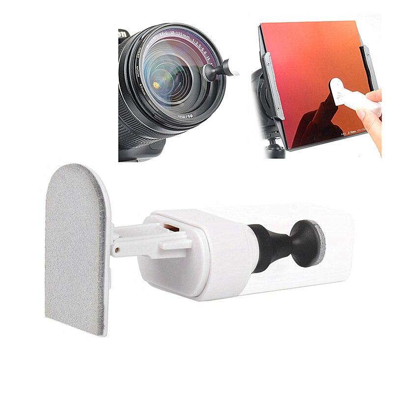 2em1 Lens Pen Escova de Limpeza Cleaner para Câmera Lentes Nisi Kase Haida Tianya P Cokin X-PRO Z-PRO 70mm 100mm 150mm Filtro Quadrado