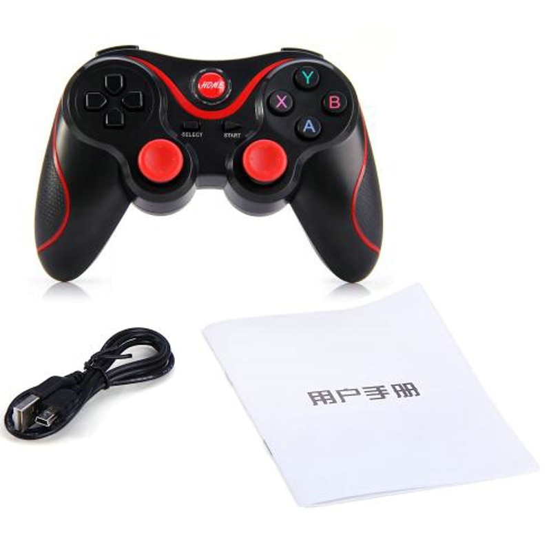 2018 T3 Wireless Bluetooth Game Controllers For Android/IOS Smart Phone Bluetooth Gamepad For 3D Glasses VR Game Controller