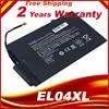 Batterie pour ordinateur portable HSW EL04XL pour HP ENVY TPN-C102 HTSNN-UB3R IB3R 4-681949-001 HSTNN-IB3R TPN-C102