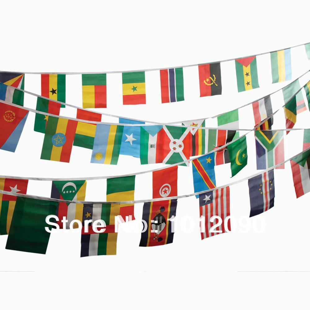 Bandera de la Copa Mundial de Brasil con 32 equipos (tamaño de la bandera 20X30 cm)