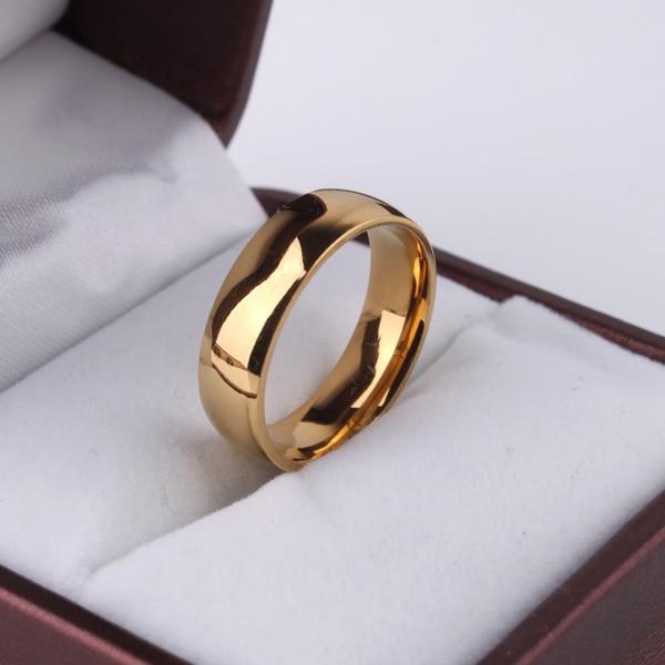 Eengrave Nach Name Signet Ring Logo Licht version gold farbe hochzeit ringe für frauen Glänzend 316l Edelstahl ring männer