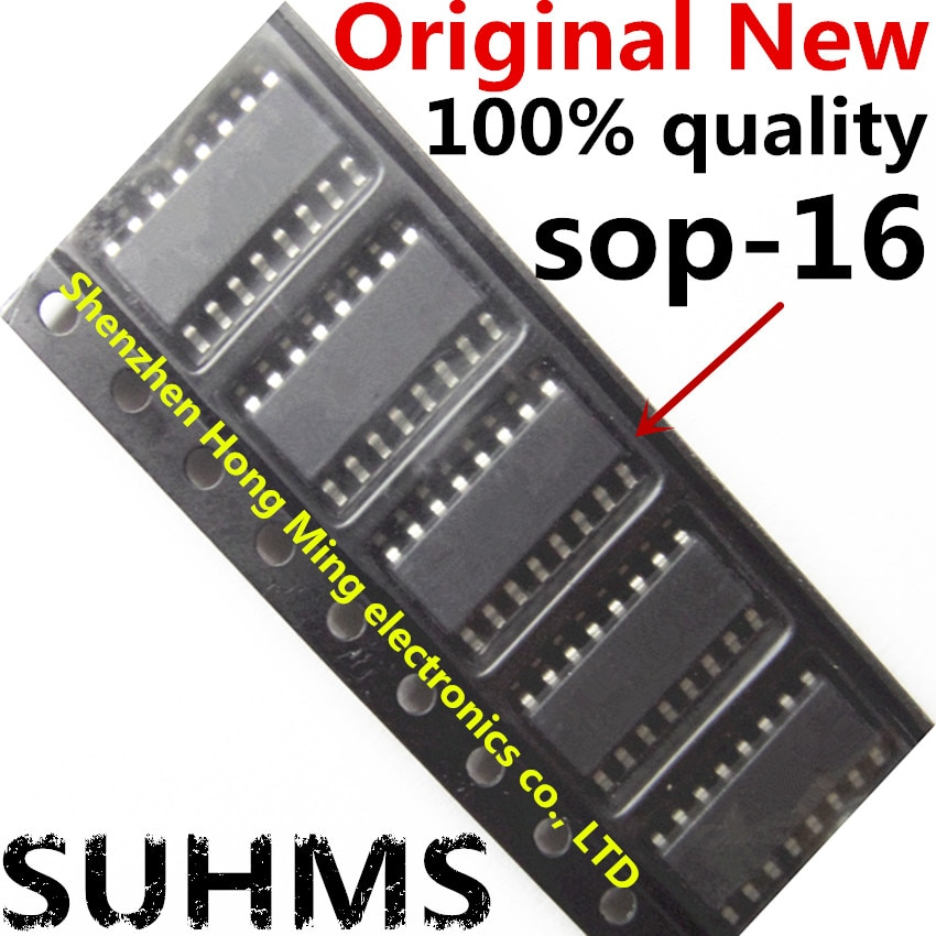 (5 piezas) 100% nuevo NCP1605BG sop-16 Chipset