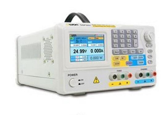 Llegada rápida Owon ODP3031 105W 0 ~ 30V 0 ~ 3A 2 canales fuente de alimentación DC programable