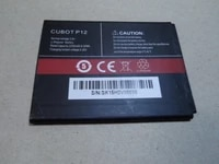 cubot p12 battery high quality original 3 8v 2200mah battery replacement for cubot p12 smart phone