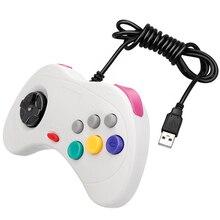 ViGRAND 1 pièces pour Sega Saturn USB contrôleur de jeu filaire manette JoyPad manette pour PC