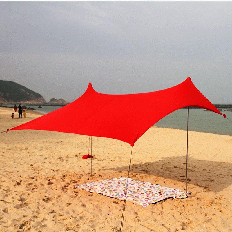 Toldo de lona GRNTAMN, toldo inflable para playa, mar caliente, toldo de refugio, ancla de arena, bolsa de transporte, toldo, protector de lluvia
