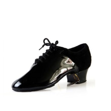 Sneakers Dance Shoes Ballroom Latin Shoes Jazz Import patent leather Comfortable heel High - end pro