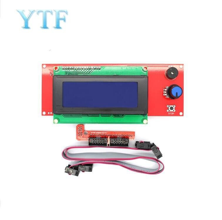 LCD 2004 Display Control Panel Smart Controller bildschirm für Reprap 3D Drucker teile Kossel RAMPEN 1,4 1,6