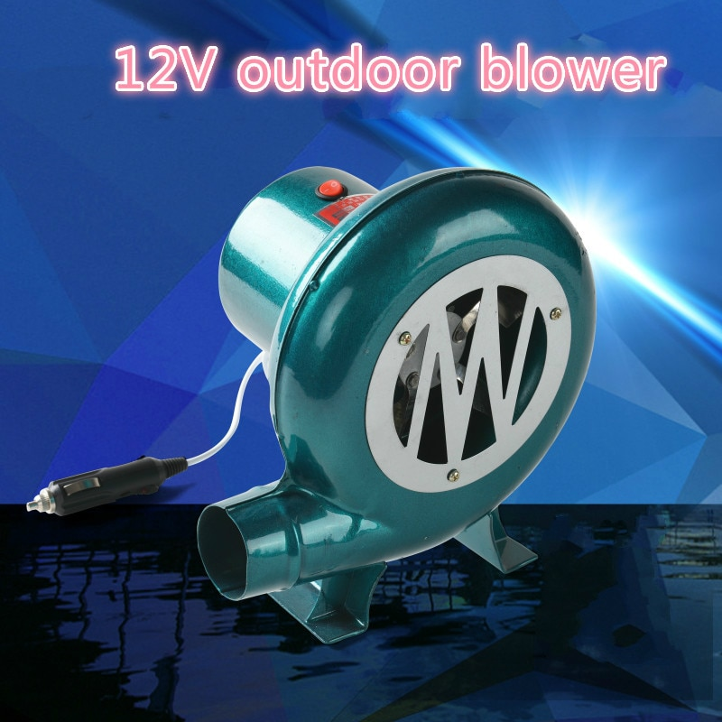 12V car blower Barbecue DC blower Vehicle 12V DC Barbecue Camping fan  BBQ accumulator  storage battery for blower