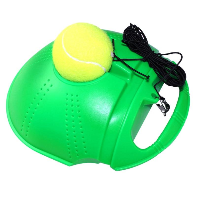 2018 Top qualität Tennis Training Tool Übung Tennis Ball Selbststudium Rebound Ball Tennis Trainer dropshipping freies epacket