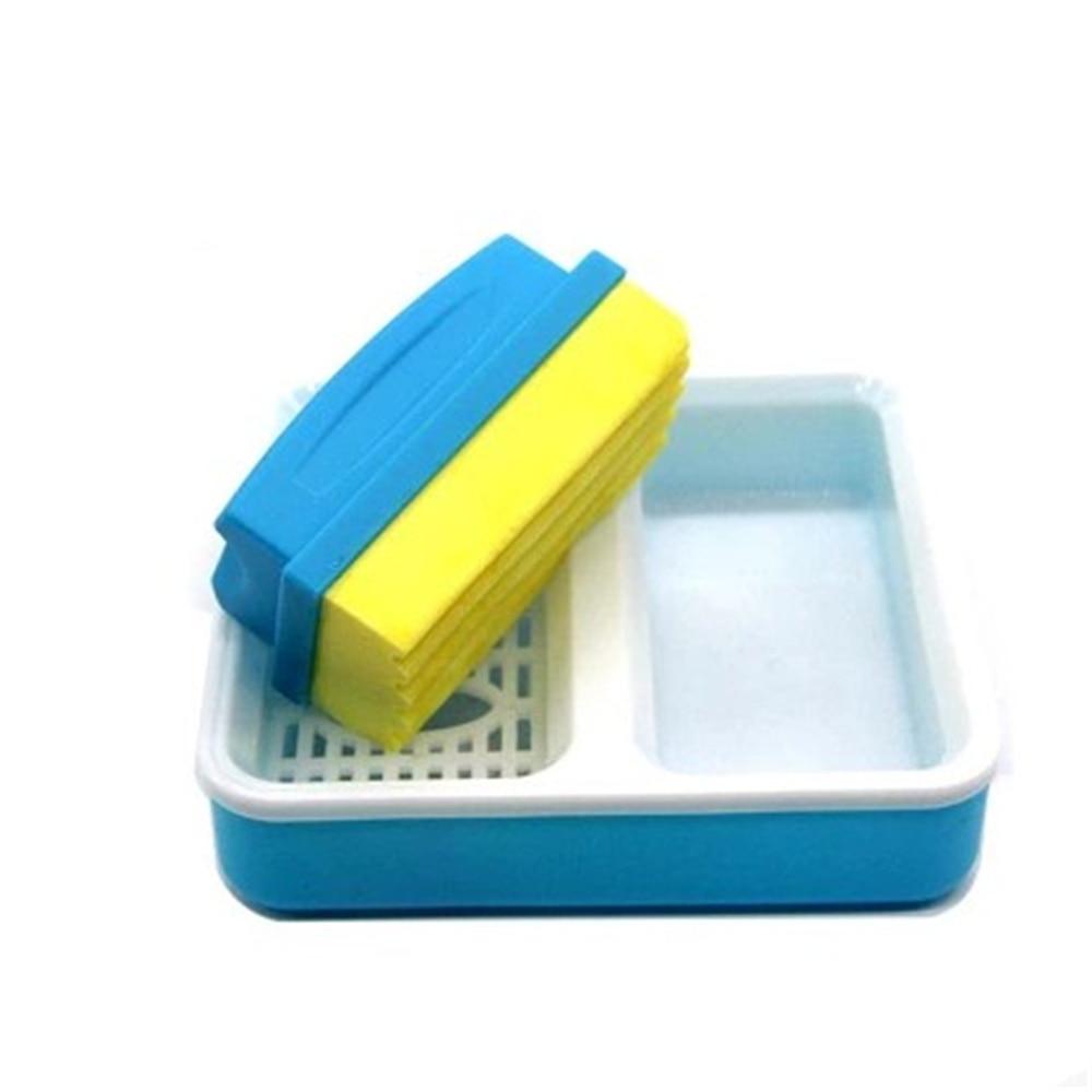 Высокое качество моющаяся мягкая доска для письма ластик мастер белая доска маркер ластик с чистым боксом