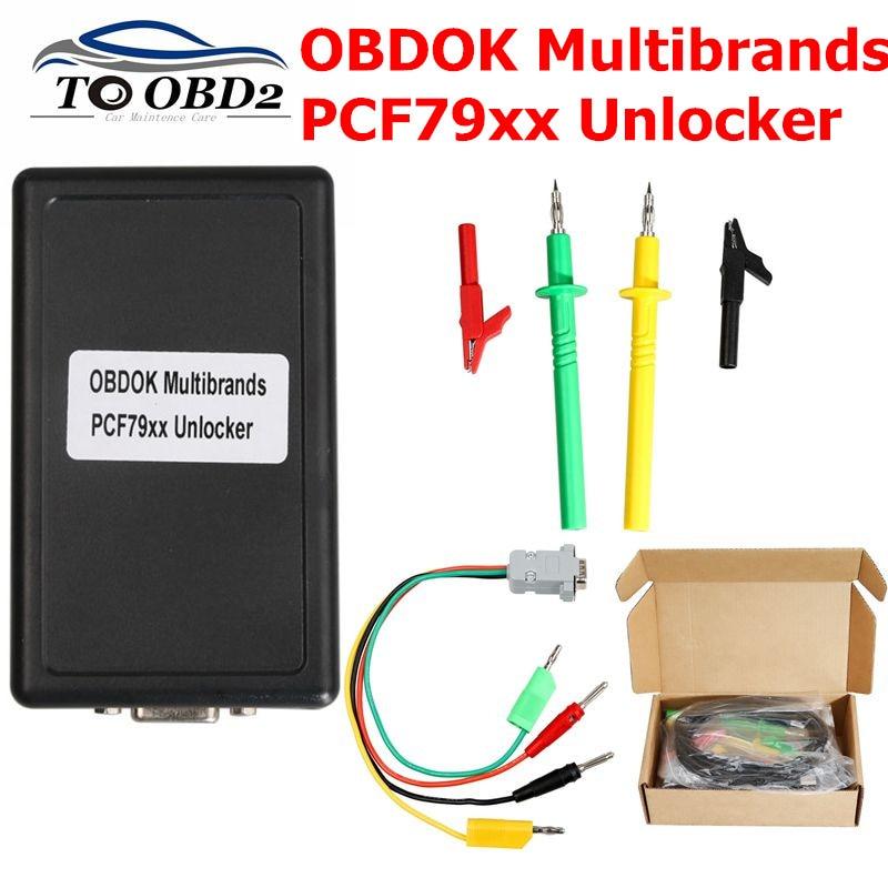 Newest OBDOK Multibrands PCF79xx Unlocker or Renewing Used Keys Code Scanner Tool