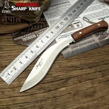 LCM66 couteaux de chasse à lame fixe, Mini machette scorpion en plein air survie dans la jungle, couteaux de chasse à lame fixe pour la défense automatique, couteau à fruits en acier