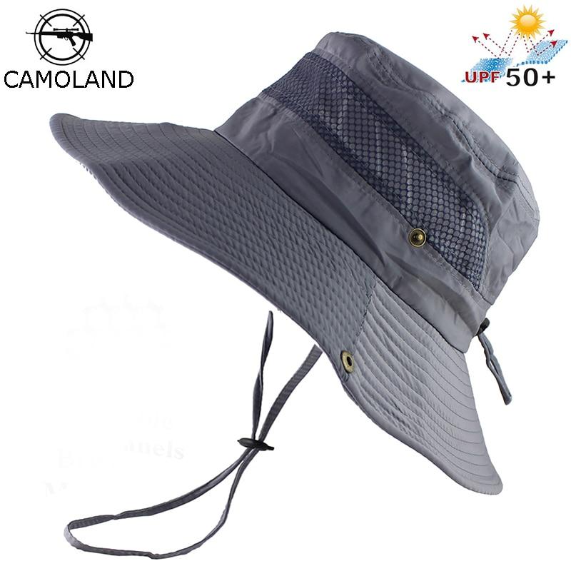 UPF 50+ Bucket Hat Summer Men Women Fishing Boonie Hats UV Protection Long Large Wide Brim Bob Hiking Sun Hat Outdoor Cap Bob
