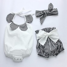 Ensembles de vêtements 3 pièces pour bébés filles   Ensemble costume princesse Tutu, barboteuse/combinaison, Costumes de fête danniversaire
