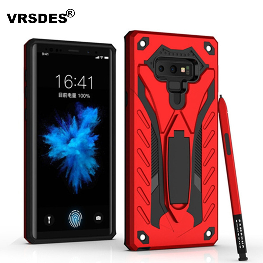 VRSDES For Samsung Galaxy S8 S9 Plus Note 8 9 A7 A9 A6 A8 J4 J6 J8 2018 Armor Shell For Samsung S7 E