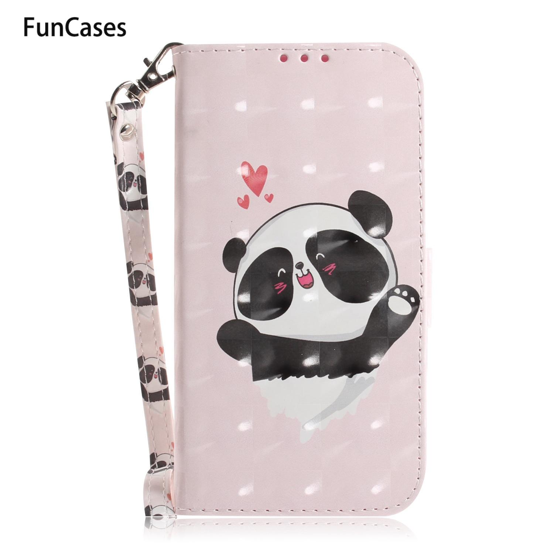 Caso para el caso de Samsung J3 Animal portátil cartera Flip caso...