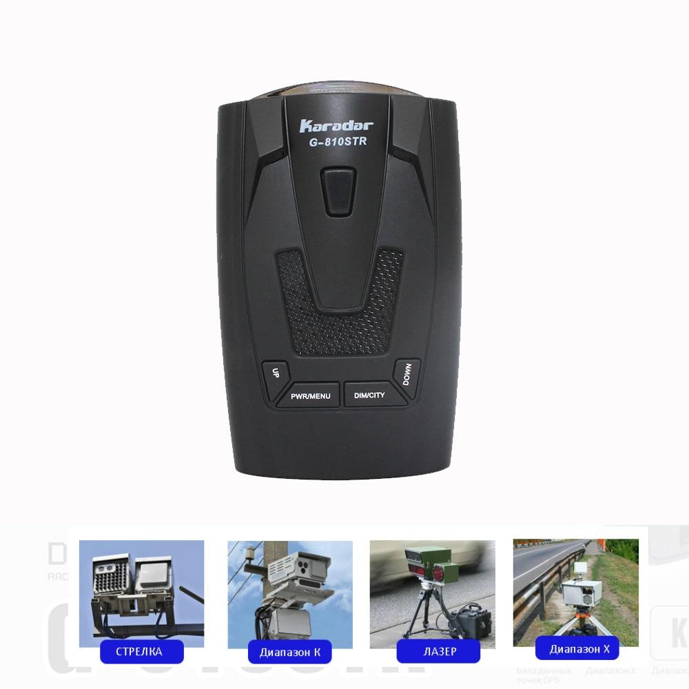 KARADAR 2018 LED GPS Радар-детектор, антирадар, автомобильный радар-детектор Strelka X K Laser CT, Русский Голос Ublox 7, GPS приемник