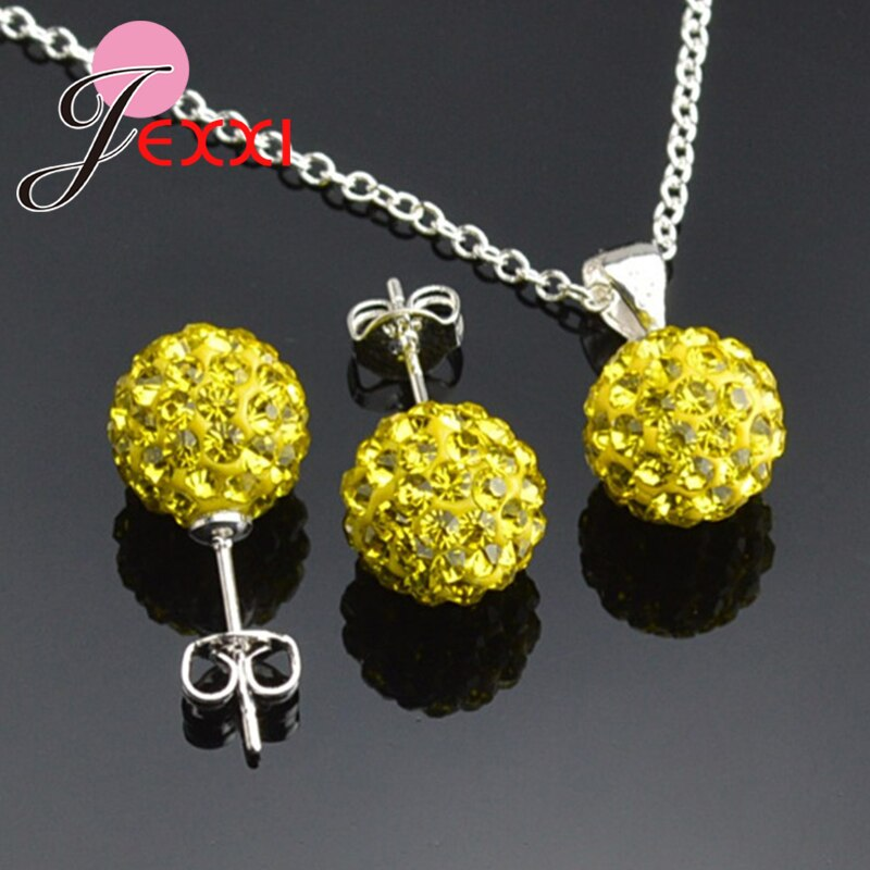 Женские-свадебные-ювелирные-наборы-из-стерлингового-серебра-925-пробы-с-блестящим-шариком-модные-серьги-гвоздики-опт