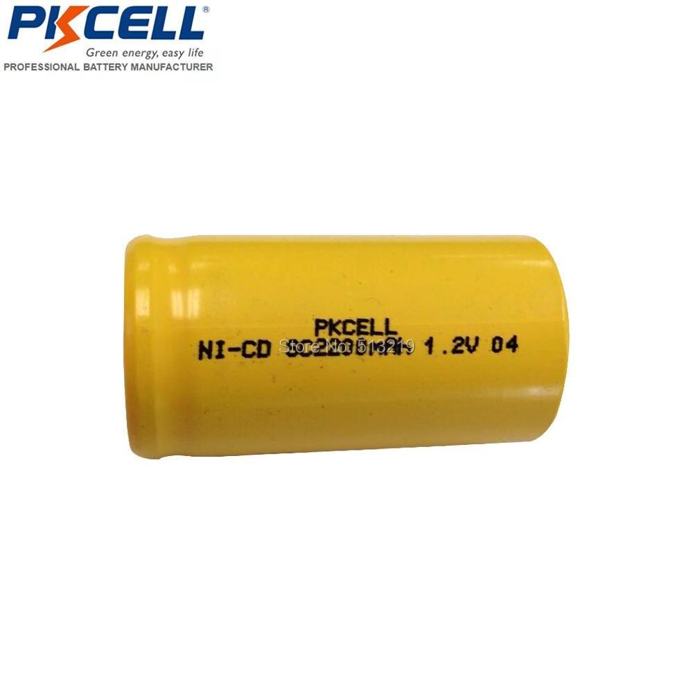 25 baterías de 1,2 V SubC 2200mAh batería recargable NiCd batería de herramienta plana superior 10C alto drenaje batería