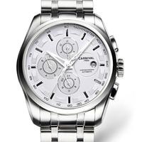 Carnival Men Watches Automatic Mechanical Brand Luxury Watch Men Sapphire reloj hombre Waterproof Men Watch Wristwatche C-8629-6