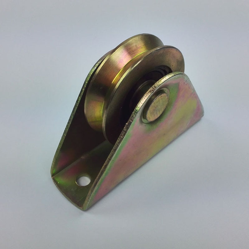 2.7 polegada de diâmetro 68mm, espessura 20mm porta deslizante/porta rolos/polias/rodas sulco v com um pçs 6203rs pçs/lote