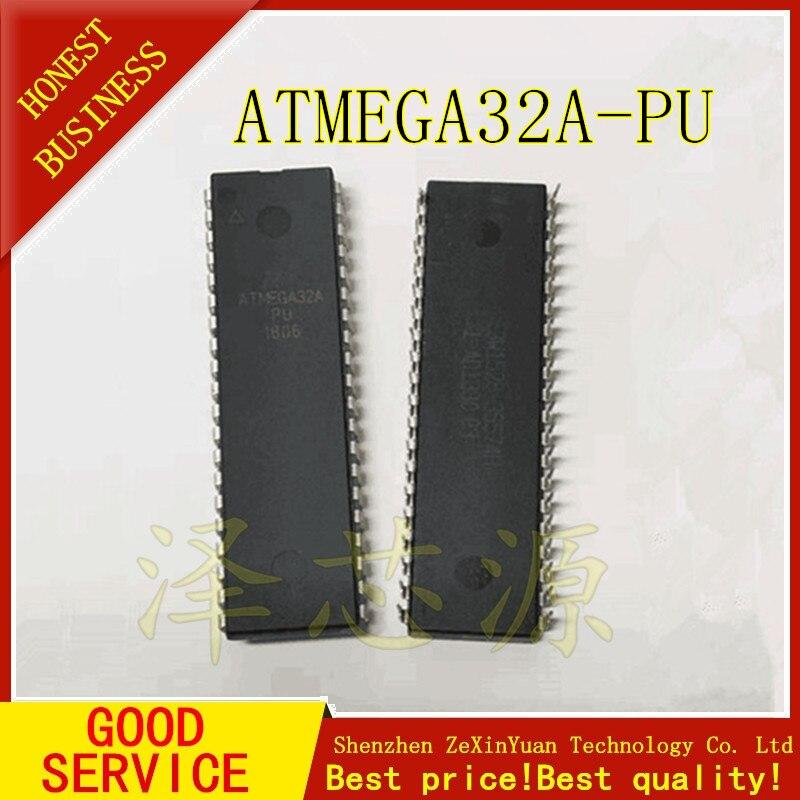 4 unids/lote ATMEGA32A-PU ATMEGA32 ATMEGA32A DIP-40 AVR micro controlador 32 k de memoria flash