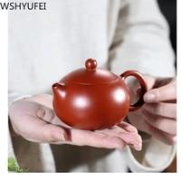 170ml yixing zisha pot wu ronghua pure hand made xi shi pot teapot household tea set accessories about wshyufei lock water