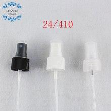 24/410 pompe de pulvérisation en plastique noir/blanc/Transparent, pompe de pulvérisation à brouillard fin de haute qualité pour bouteilles (100 PC/Lot)