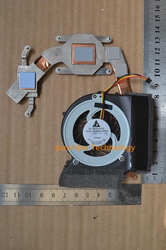 Nuevo ventilador para portátil con disipador de calor para IBM SL410 SL410K SL510 SL410 KSB06105HA Tarjeta de visualización especial intel