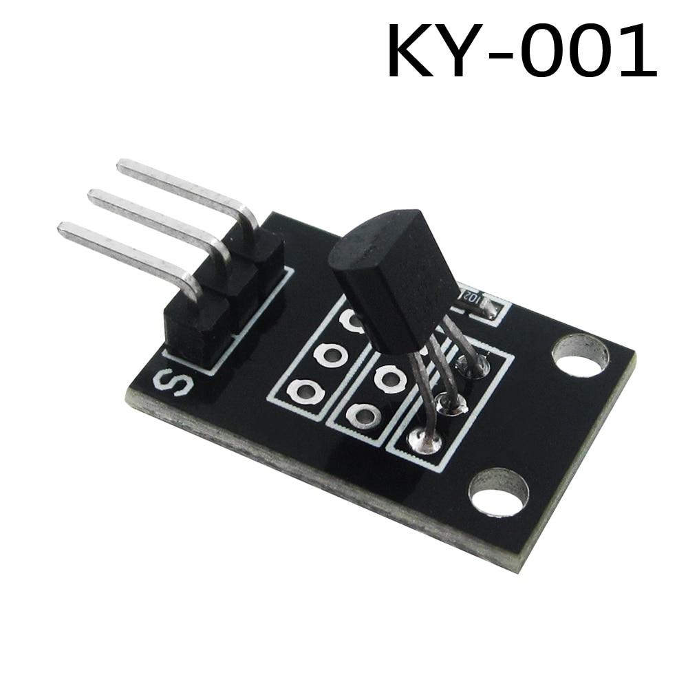 Smart Electronics 10pcs/lot KY-001 3pin DS18B20 Temperature Measurement Sensor Module Diy Starter Kit KY001