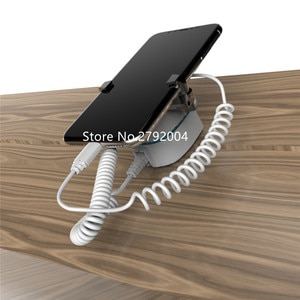 Cellphone retail security display stand anti-theft alarm holder ecurity display mobile anti-lost Holder With Blue light