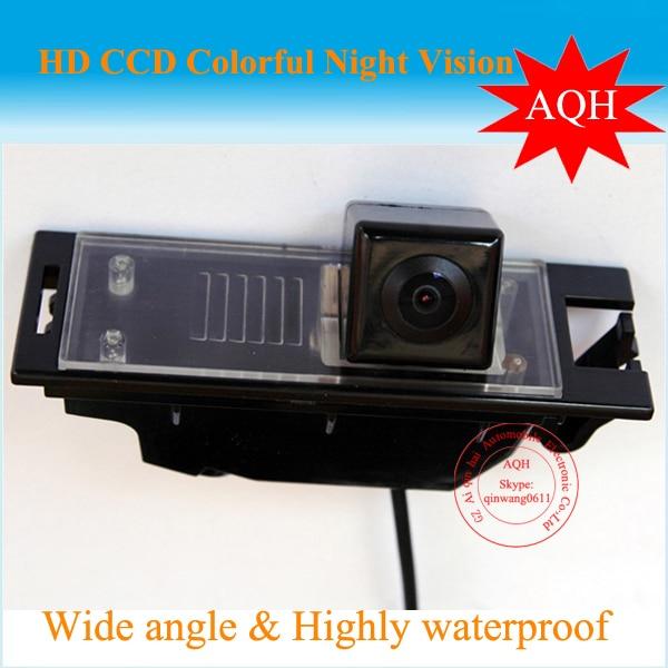Free Shipping Car rear view camera For Hyundai IX35 HD CCD night vision color Reverse car camera parking system