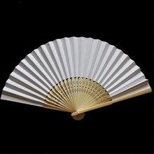 Ventilateurs pliables en soie et bambou   Ventilateur pliable à main, Style chinois, pour église, cadeau de mariage, cadeau de décoration de maison Vintage # Y4