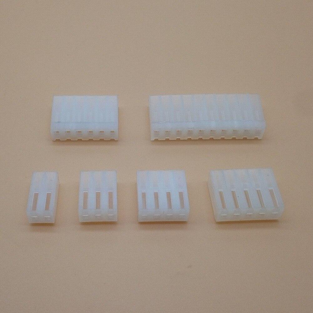 20 unids/lote CH3.96 3,96mm CH3.96-2,3-4,5 y de 6,7 8 Pin hembra conector de carcasa