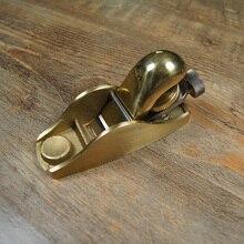 Luban européenne petite raboteuse en cuivre rabot américain professionnel menuiserie métal rabot cuivre